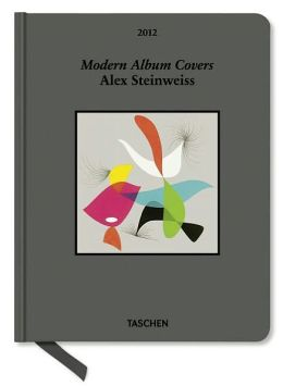 2012 Modern Album Covers Clothbound Engagement Calendar