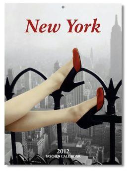2012 New York Tear-Off Weekly Wall Calendar