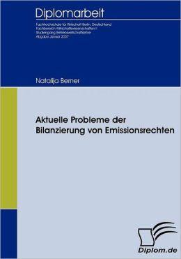 Aktuelle Probleme der Bilanzierung von Emissionsrechten