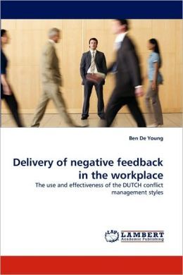 Delivery of negative feedback in the workplace