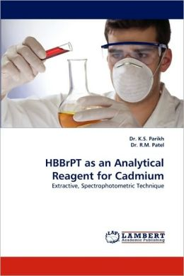 Hbbrpt As An Analytical Reagent For Cadmium