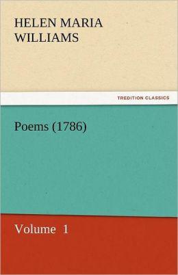 Poems (1786)