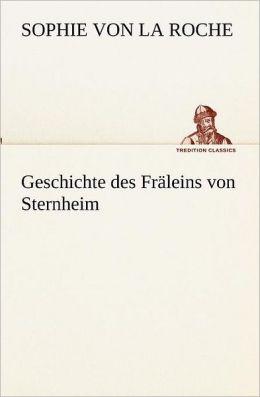 Geschichte Des Fr Leins Von Sternheim