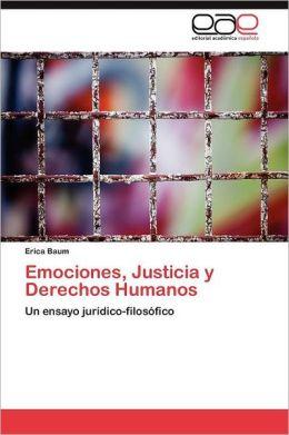 Emociones, Justicia y Derechos Humanos