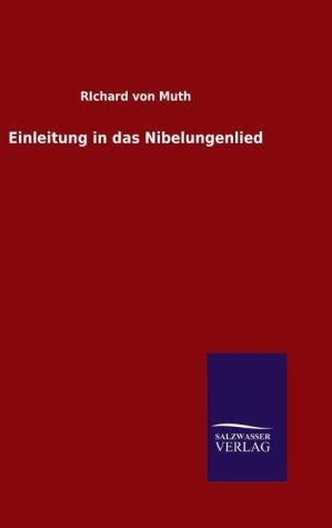 9783846082058 - RIchard von Muth: Einleitung in das Nibelungenlied - 书