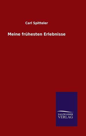 9783846082294 - Carl Spitteler: Meine fr hesten Erlebnisse - Book