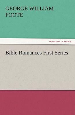 Bible Romances First Series