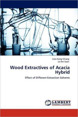 Wood Extractives Of Acacia Hybrid
