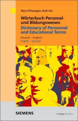 Wörterbuch Personal- Und Bildungswesen
