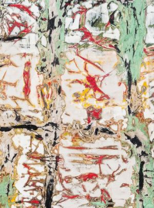 Mark Bradford: Tears of a Tree