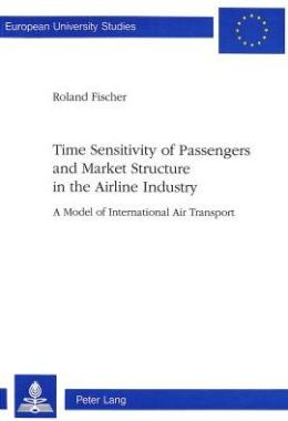 Time Sensitivity of Passengers and Market Structure in the Airline Industry: A Model of International Air Transport