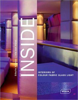 Inside: Interiors of Colour Fabric Glass Light