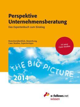 Perspektive Unternehmensberatung 2014: Das Expertenbuch zum Einstieg. Branchenüberblick, Bewerbung, Case Studies, Expertentipps