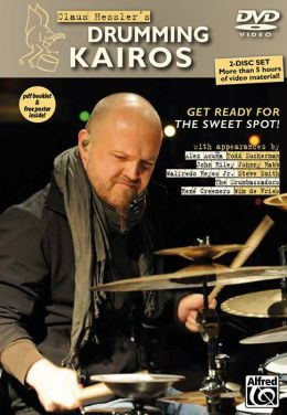 Claus Hessler's Drumming Kairos (English/German Language Edition): Get Ready for the Sweet Spot!, 2 DVDs, PDF Booklet & Poster