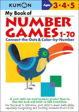 My Book of Number Games 1-70 (Kumon Series)