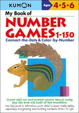My Book of Number Games 1-150 (Kumon Series)