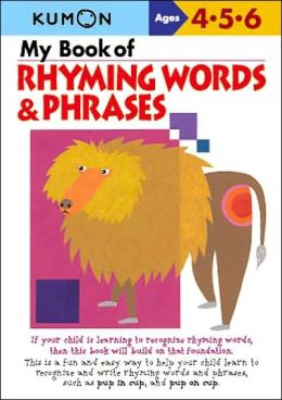 My Book of Rhyming Words and Phrases (Kumon Series)