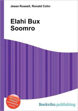 Elahi Bux Soomro