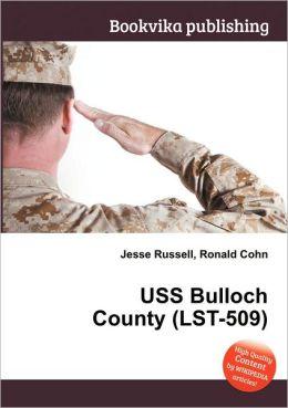 USS Bulloch County (Lst-509)