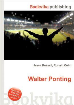 Walter Ponting