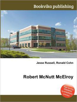 Robert McNutt McElroy