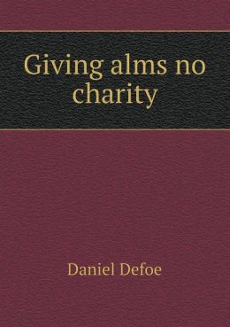 Giving alms no charity