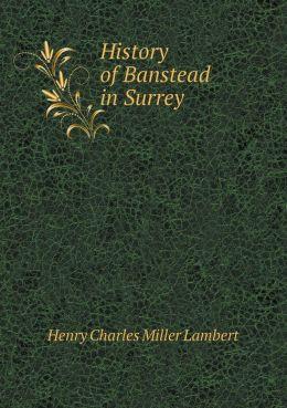 History of Banstead in Surrey