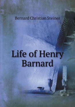 Life of Henry Barnard