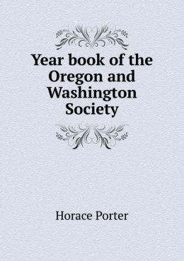 Year book of the Oregon and Washington Society