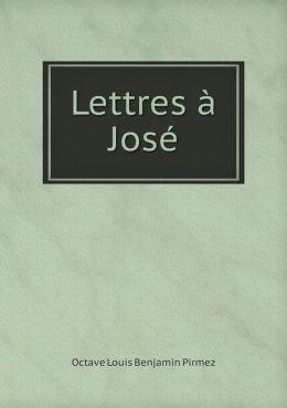 Lettres Jos