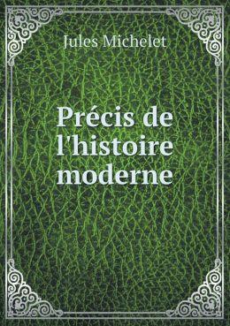Pr cis de l'histoire moderne