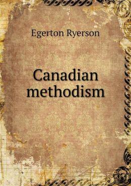 Canadian methodism