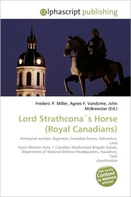 Lord Strathcona?S Horse (Royal Canadians)