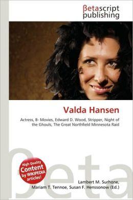 Valda Hansen
