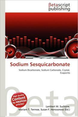 Sodium Sesquicarbonate