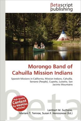 Morongo Band Of Cahuilla Mission Indians