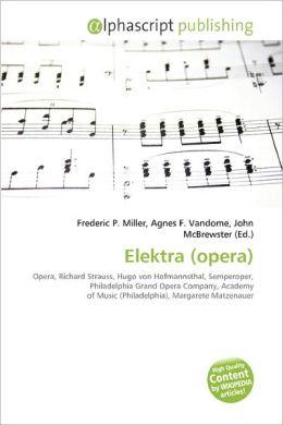 Elektra (Opera)