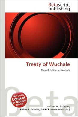 Treaty Of Wuchale
