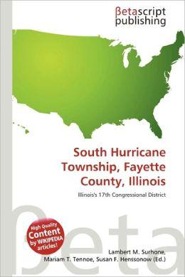 South Hurricane Township, Fayette County, Illinois by Lambert Mhurricane township