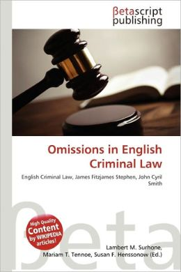 Omission Law and Legal Definition