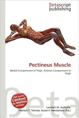 Pectineus Muscle by Lambert M. Surhone | 9786135285420 | Paperback ...: barnesandnoble.com/w/pectineus-muscle-lambert-m-surhone/1030859030...