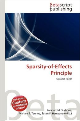 Sparsity-Of-Effects Principle