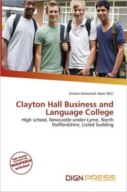 Clayton Hall Business And Language College