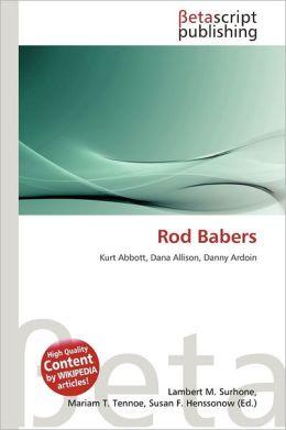 Rod Babers