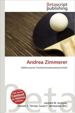 Andrea Zimmerer