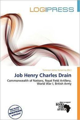 Job Henry Charles Drain
