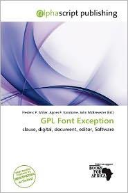 Gpl Font Exception