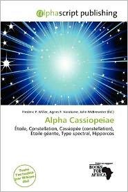 Alpha Cassiopeiae