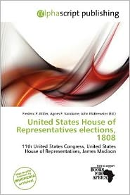 United States House Of Representatives Elections, 1808