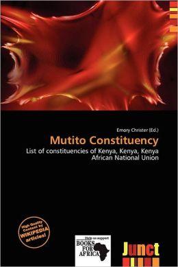 Mutito Constituency